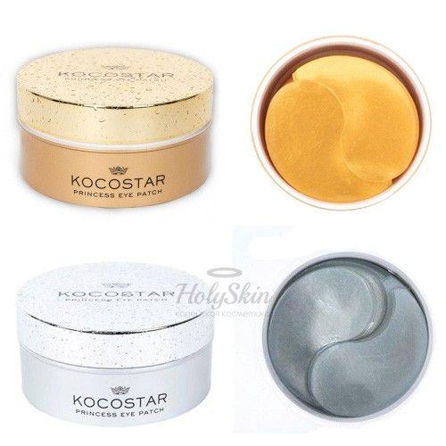 Гидрогелевые патчи для кожи вокруг глаз Kocostar — Princess Eye Patch