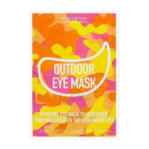 Увлажняющие патчи для кожи под глазами Kocostar Camouflage Hydrogel Eye Mask фото