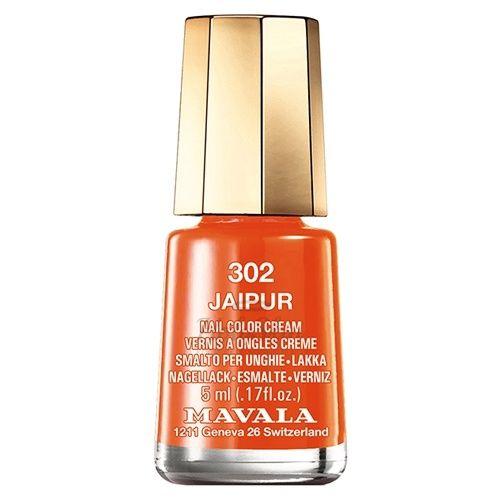 Оранжевый лак для ногтей Mavala