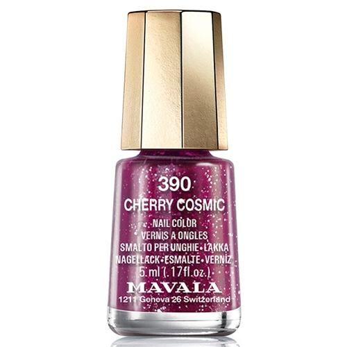 Купить Красно-малиновый лак для ногтей Mavala, Mavala Nail Color Cream 390 Cherry Cosmic, Швейцария