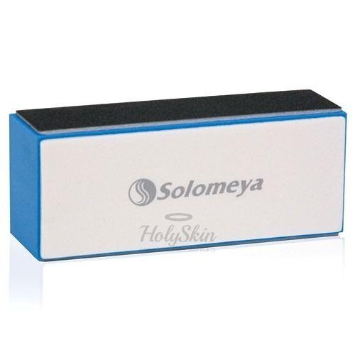 Купить Четырехсторонний блок-полировщик для ногтей Solomeya, 4 Way Block Buffer 180/320/800/4000, Великобритания
