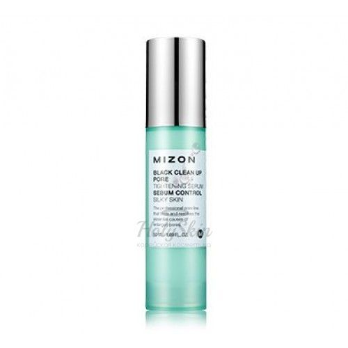 Black Clean Up Pore Tightening Serum Mizon отзывы