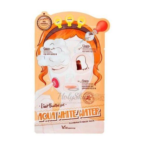 Купить Трехшаговый набор для осветления кожи Elizavecca, Aqua White Water Illuminate Mask Pack, Южная Корея