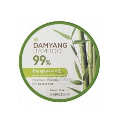 Купить Освежающий гель с экстрактом бамбука The Face Shop, Damyang Bamboo Fresh Soothing Gel, Южная Корея