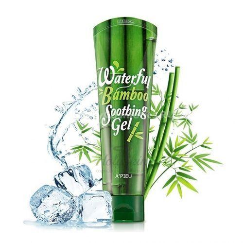 Купить Увлажняющий и успокаивающий гель с экстрактом бамбука A'Pieu, Apieu Waterfull Soothing Gel Bamboo, Южная Корея