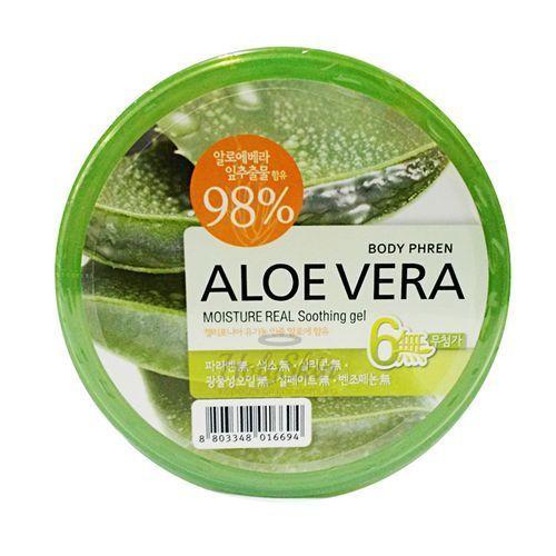 Купить Универсальный гель для лица и тела Welcos, Aloe Vera Moisture Real Soothing Gel, Южная Корея