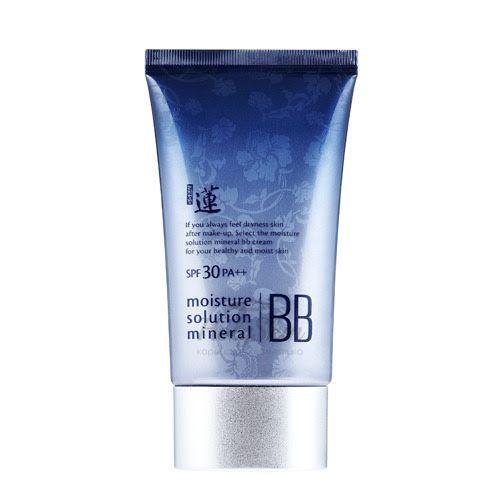 Купить Увлажняющий BB крем Welcos, Lotus Moisture Solution Mineral BB Cream, Южная Корея