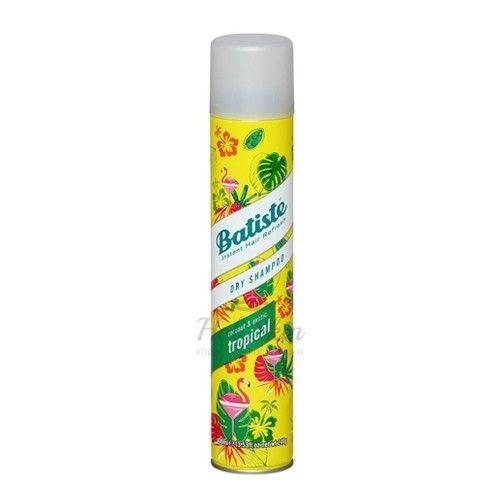 Купить Сухой шампунь для придания свежести волосам Batiste, Batiste Tropical Dry Shampoo, Великобритания