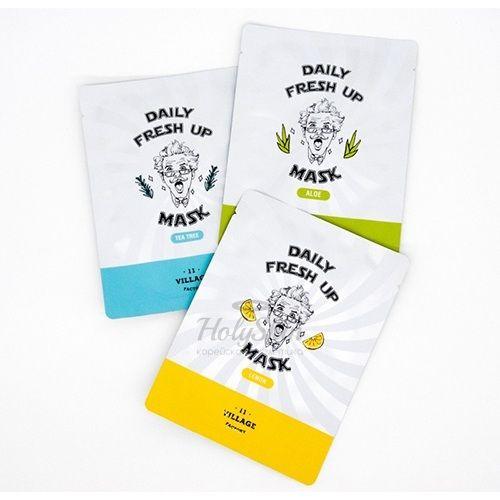 Серия тканевых масок для лица Village 11 Factory Daily Fresh Up Mask фото