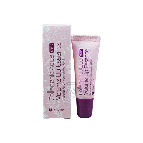 Коллагеновая эссенция для восстановления губ Mizon Collagenic Aqua Volume Lip Essence фото