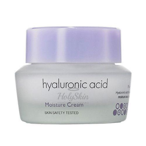 Купить Крем для лица с гиалуроновой кислотой обеспечивает интенсивное и длительное увлажнение кожи. It's Skin, Hyaluronic Acid Moisture Cream, Южная Корея