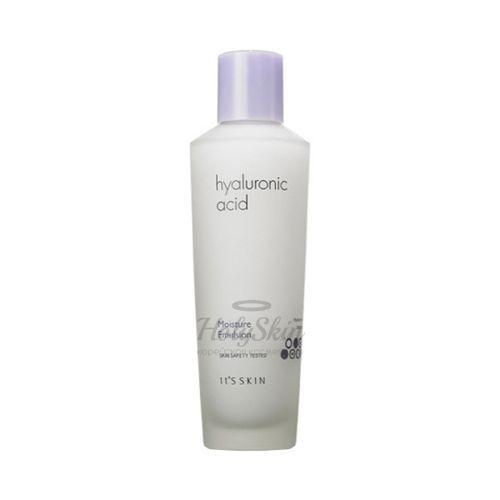 Купить Увлажняющая эмульсия с гиалуроновой кислотой предназначена для интенсивного и длительного увлажнения кожи. It's Skin, Hyaluronic Acid Moisture Emulsion, Южная Корея