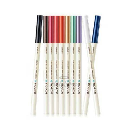 Купить со скидкой Водостойкий гелевый карандаш для глаз The Saem