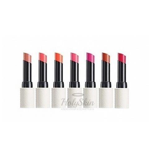 Глянцевая помада для губ The Saem Kissholic Lipstick G фото