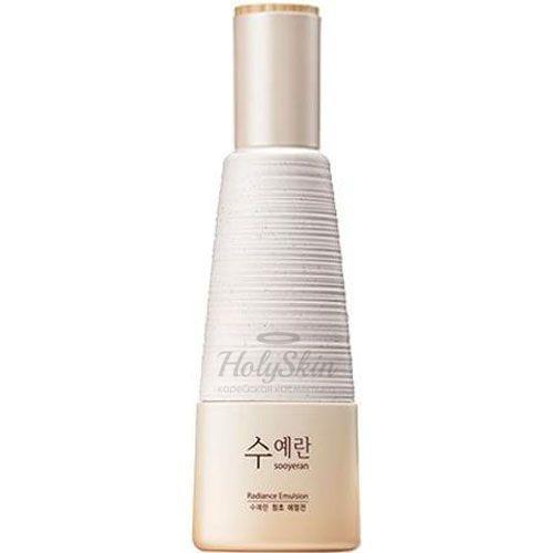 Купить Эмульсия для лица The Saem, Sooyeran Radiance Emulsion, Южная Корея
