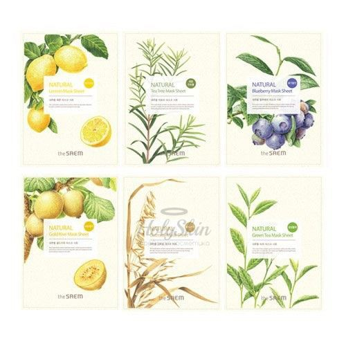 Natural Mask Sheet The Saem купить