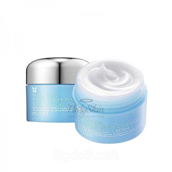 Купить Крем-гель для проблемной кожи Mizon, Acence Blemish Control Soothing Gel Cream, Южная Корея