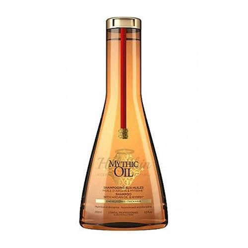 Купить Шампунь для плотных и непослушных волос L'oreal Professionnel, Mythic Oil Shampoo for Thick Hair 250ml, Испания