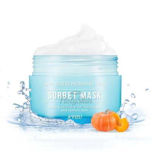 Купить Утренняя маска-сорбет A'Pieu, Good Morning Sorbet Mask, Южная Корея
