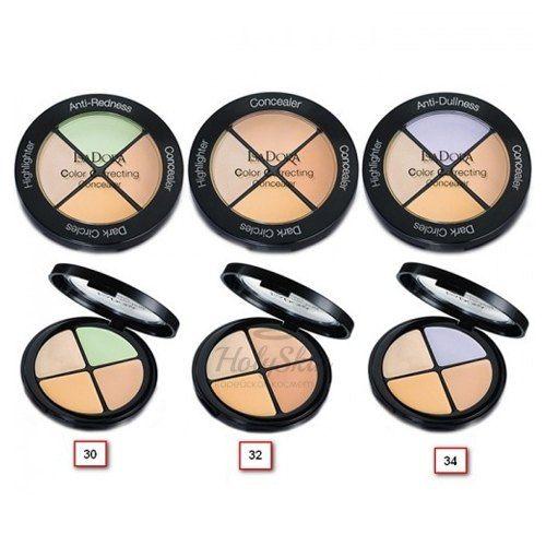 Купить Универсальная палетка для макияжа IsaDora, Color Correcting Concealer, Швеция
