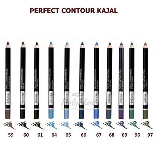 Купить Карандаш для век IsaDora, Perfect Contour Kajal, Швеция
