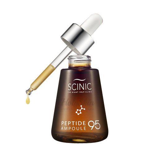 Купить Восстанавливающая сыворотка для лица Scinic, Peptide Ampoule 95, Южная Корея