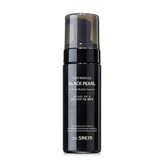 Gem Miracle Black Pearl O2 Smart Bubble Cleanser The Saem купить