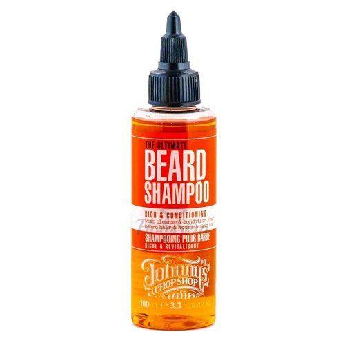 Купить Питательный шампунь предназначен для активного ухода за бородой. Johnny's Chop Shop, The Ultimate Beard Shampoo, Великобритания