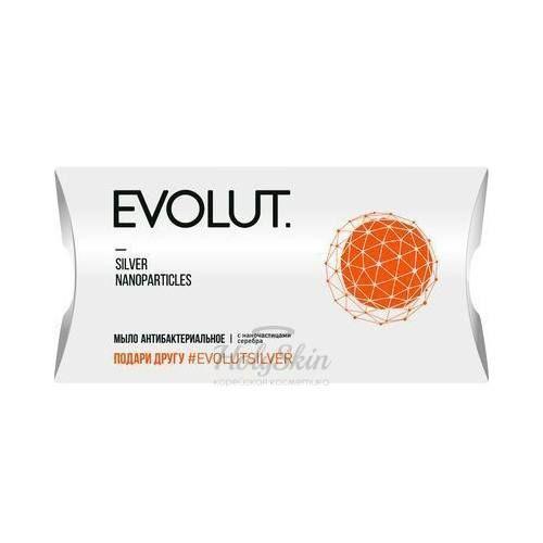 Антибактериальное мыло для лица с наночастицами серебра Evolut — Мыло антибактериальное для лица и тела с наночастицами серебра 20 г