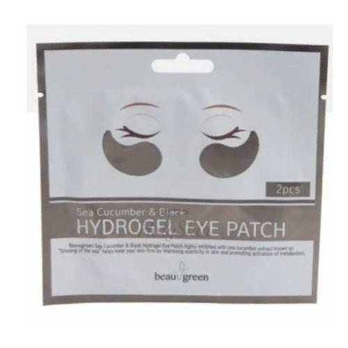 Купить Гидрогелевые патчи для глаз с огурцом BeauuGreen, Sea Cucumber and Black Hydro-Gel Patch 2 pcs, Южная Корея