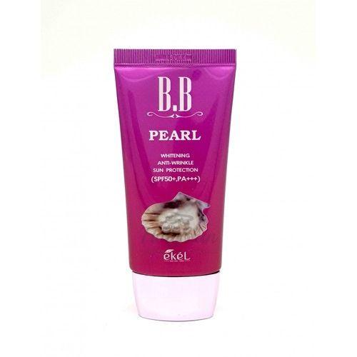 Купить BB крем с жемчугом Ekel, BB Pearl Cream SPF50, Южная Корея