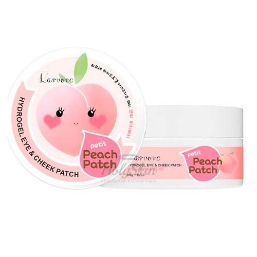 Купить Гидрогелевые патчи L'arvore, Hydrogel Eye and Cheek Petit Peach Patch, Южная Корея