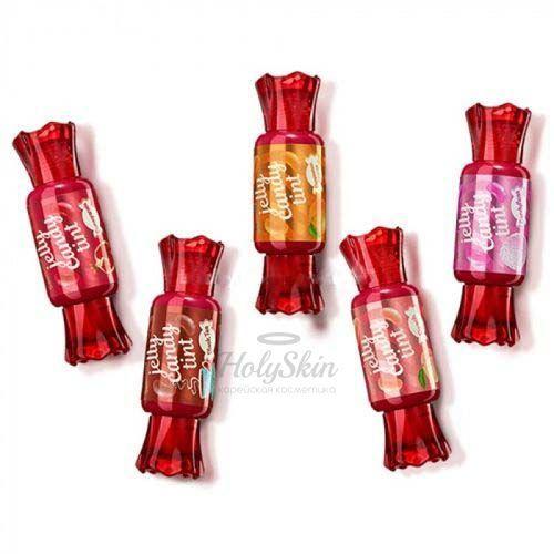 Купить Гелевый тинт для губ The Saem, Saemmul Jelly Candy Tint, Южная Корея