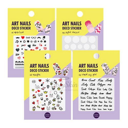 Art Nails Deco Sticker Holika Holika отзывы