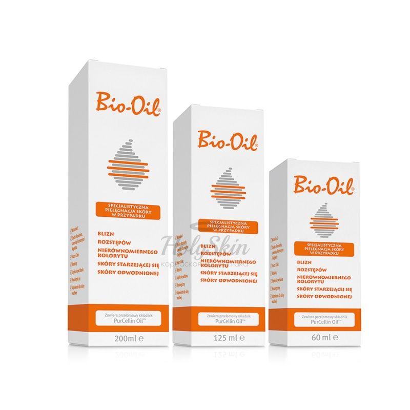 Косметическое масло от рубцов и шрамов Bio-Oil — Масло косметическое от шрамов растяжек неровного тона