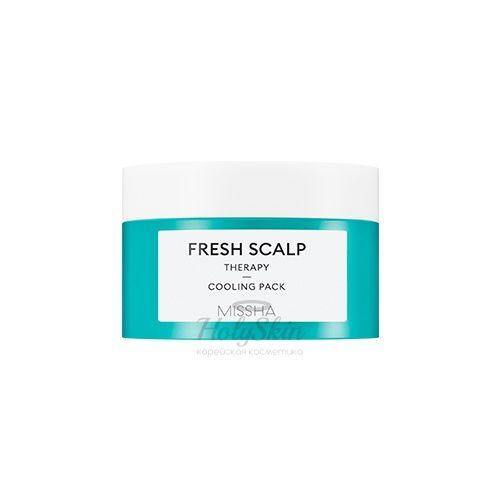 Купить Охлаждающая маска для кожи головы Missha, Fresh Scalp Therapy Cooling Pack, Южная Корея