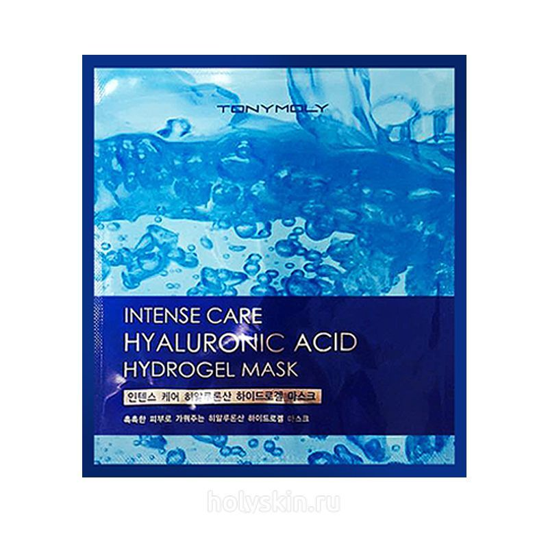 Intense Care Hyaluronic Acid Hydrogel Mask Tony Moly купить