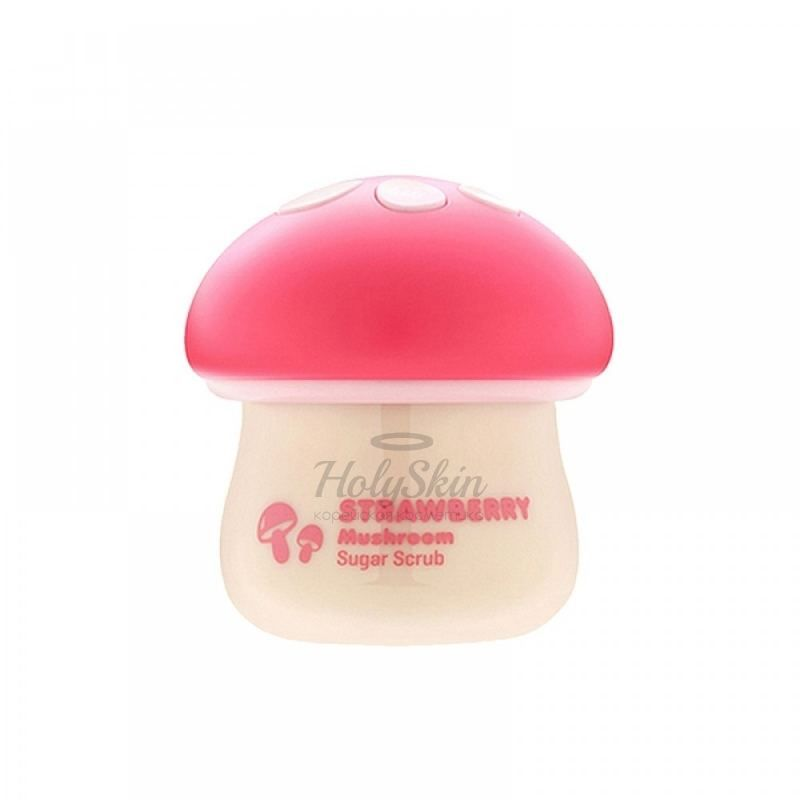 Magic Food Strawberry Mushroom Sugar Scrub Tony Moly купить