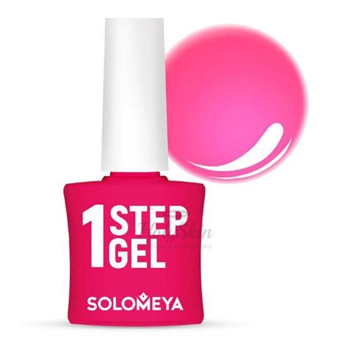 Купить Однофазный розовый гель-лак Solomeya, One Step Gel 17 My Love, Великобритания
