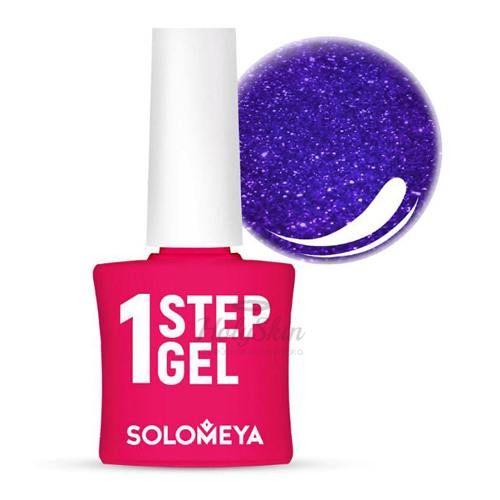 Однофазный гель-лак Сапфир Solomeya One Step Gel 24 Sapphire фото