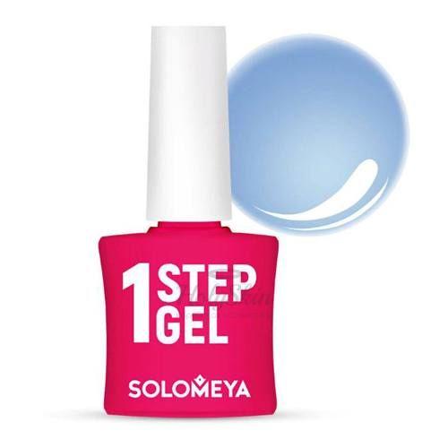 Купить Однофазный гель-лак туманного голубого цвета Solomeya, One Step Gel 28 Mist, Великобритания