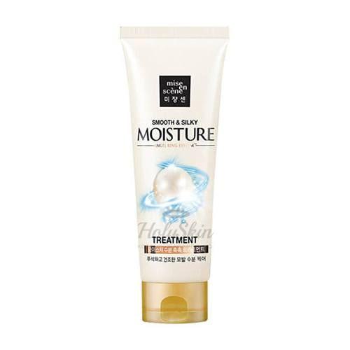 Купить Маска для волос с гиалуроновой кислотой и жемчугом Mise En Scene, Pearl Smooth and Silky Moisture Treatment, Южная Корея