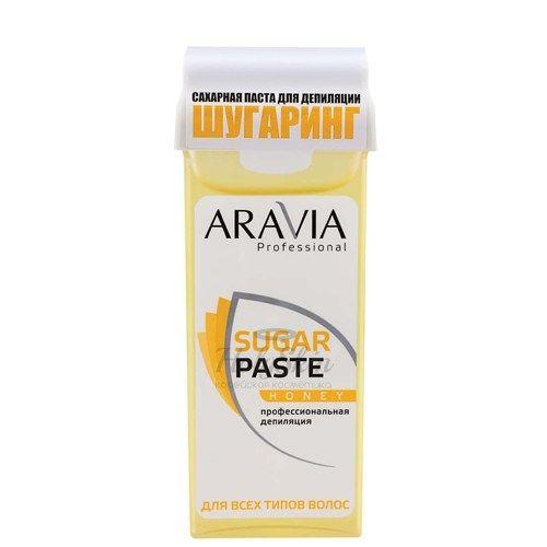 Сахарная паста для шугаринга мягкой консистенции Медовая Aravia Professional — Aravia Professional Sugar Paste Honey 150 г