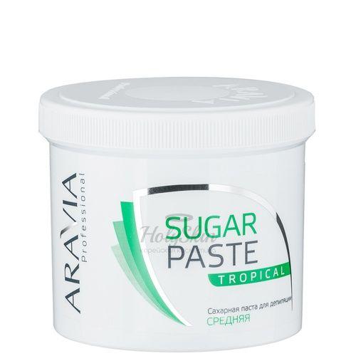 Купить Паста для шугаринга средней консистенции Тропическая Aravia Professional, Aravia Professional Sugar Paste Tropical 750 г, Россия