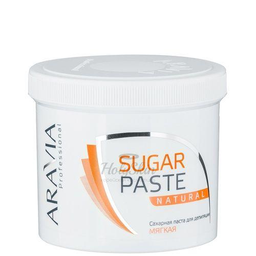 Купить Паста для шугаринга мягкой консистенции Натуральная Aravia Professional, Aravia Professional Sugar Paste Natural 750 г, Россия