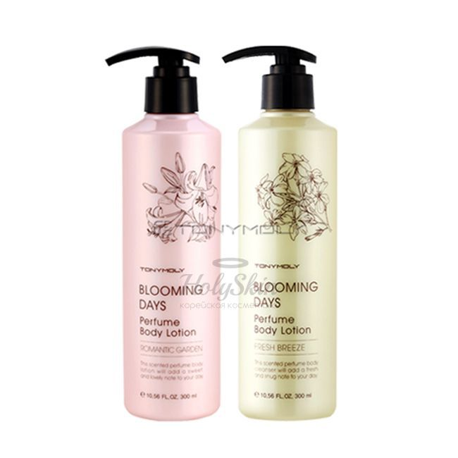 Blooming Days Perfume Body Lotion description