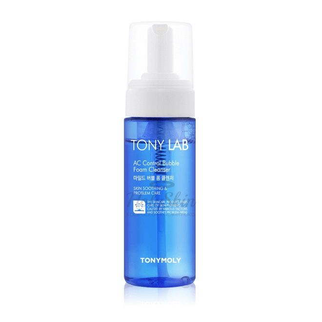 Купить Пенка для проблемной кожи Tony Moly, Tony Lab AC Control Bubble Foam Cleanser, Южная Корея