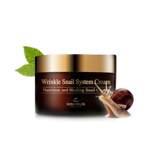 Wrinkle Snail System Cream 100ml The Skin House отзывы