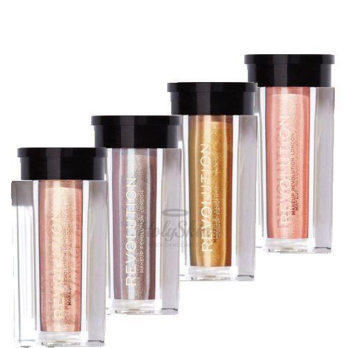 Перламутровый пигмент для макияжа MakeUp Revolution — Crushed Pearl Pigments