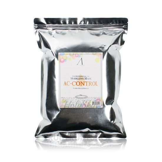 Купить Альгинатная маска для проблемной кожи Anskin, AC Control Modeling Mask Refill (1kg), Южная Корея
